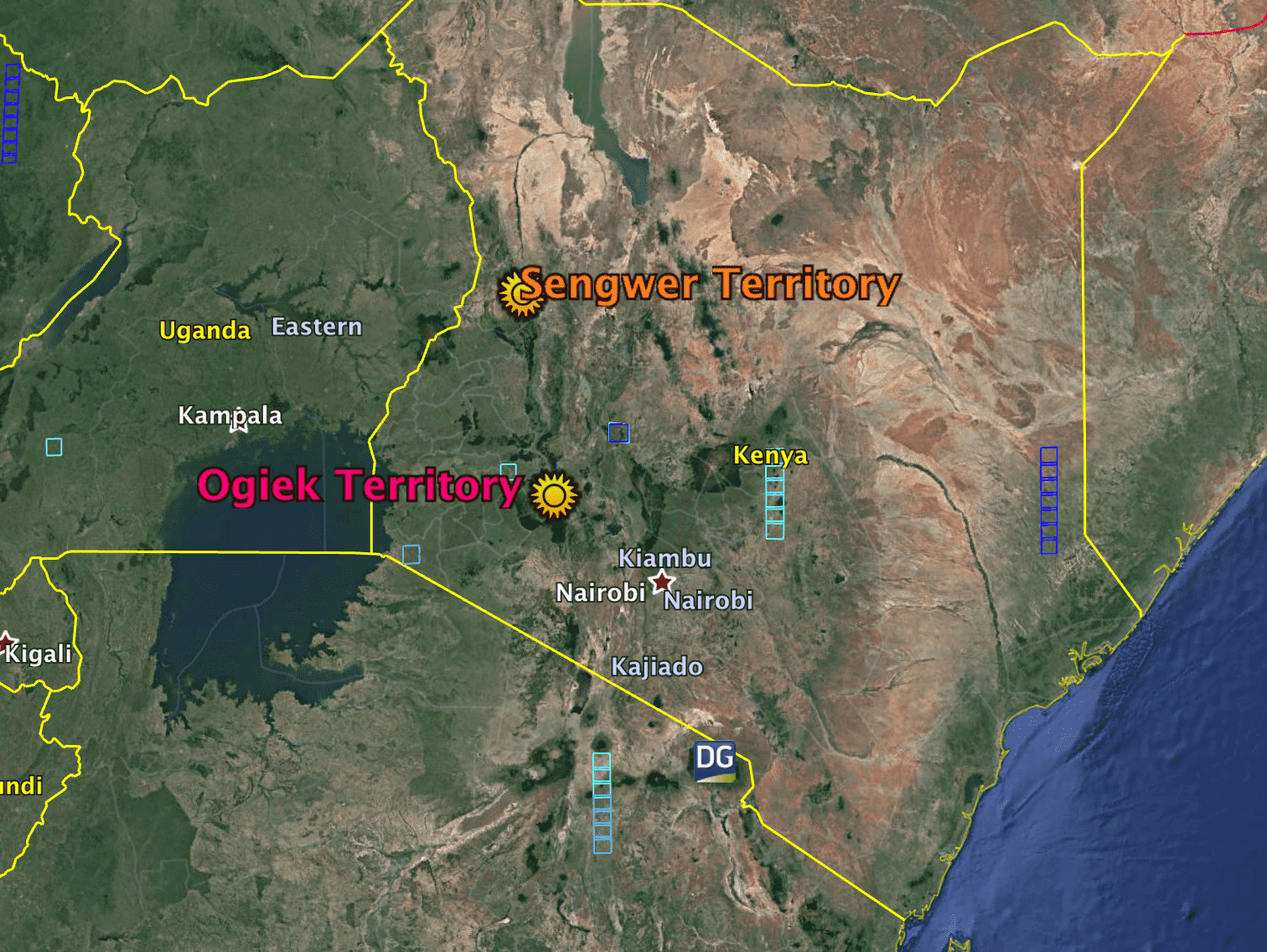Sengwer & Ogiek Territory 2018-05-19