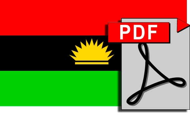 Biafra Government In Exile (BGIE) Press Release - July 14, 2008